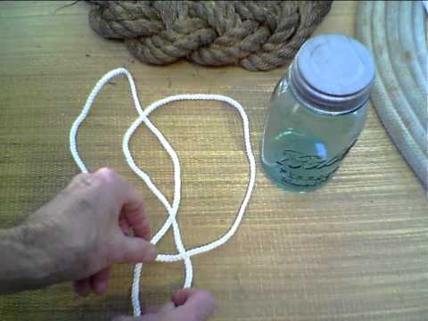 How To Tie A Jar Sling Youtube