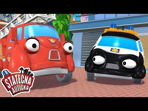 Statečná autíčka - Záhradní zloděj