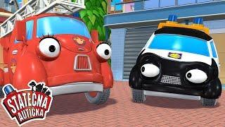 Statočné autíčka - Záhradní zlodeji