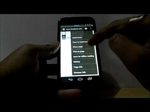 Android 4.0 ICS Review on the new micromax A100