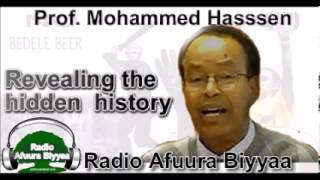Radio Afuura Biyyaa: Interview with Historian Dr. Mohammed Hassen on the Historical Perspective of the Crimes Committed by Menelik II on Oromos