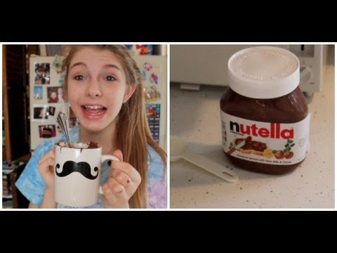 DIY 2 Minute Nutella Cake!, recipe: 2 tablespoons of sugar 2 tablespoons of flour 2 tablespoons of coco powder 1 egg 1 tablespoon of milk 1 tablespoon of nutella and watch and heat unti...