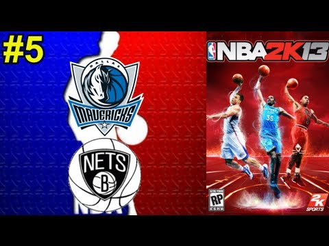 NBA 2K13 #5 || Dallas Mavericks - Brooklyn Nets || Montes, Daimiel y Slobulus (en español)