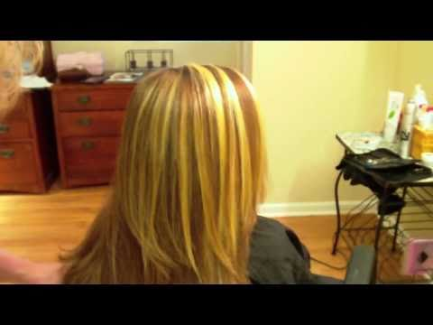 How to do Thick, Chunky Highlights with Foils - YouTube