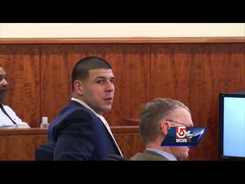 Surveillance video shows murder victim with Hernandez at nightclub