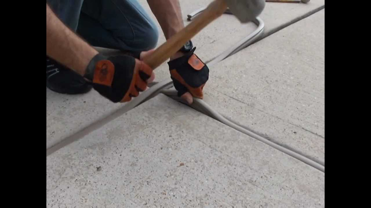 Filling Expansion Joints By Gaparmour Com Youtube