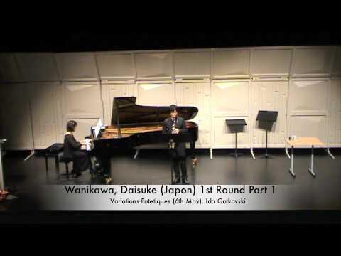 Wanikawa, Daisuke (Japon) 1st Round Part 1