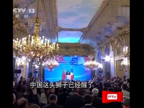 Xi Jinping proclaims that lion China has already revived
