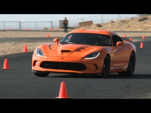 SRT Viper TA: Autocross at Willow Springs