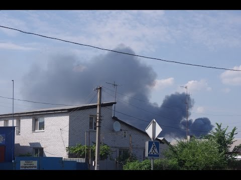 Intense violence has erupted near Donetsk airport between Ukrainian army and separatists