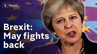 Brexit: May demands respect after EU rejects her plan
