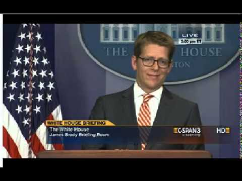 Jay Carney has no comment on U.S. delegation to Sochi Olympics