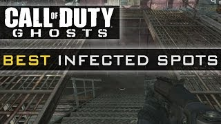 CoD Ghosts BEST Infected Spots On Every Map - All Maps