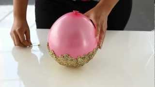 GlitterNGlue – DIY Glitter Accent Bowl