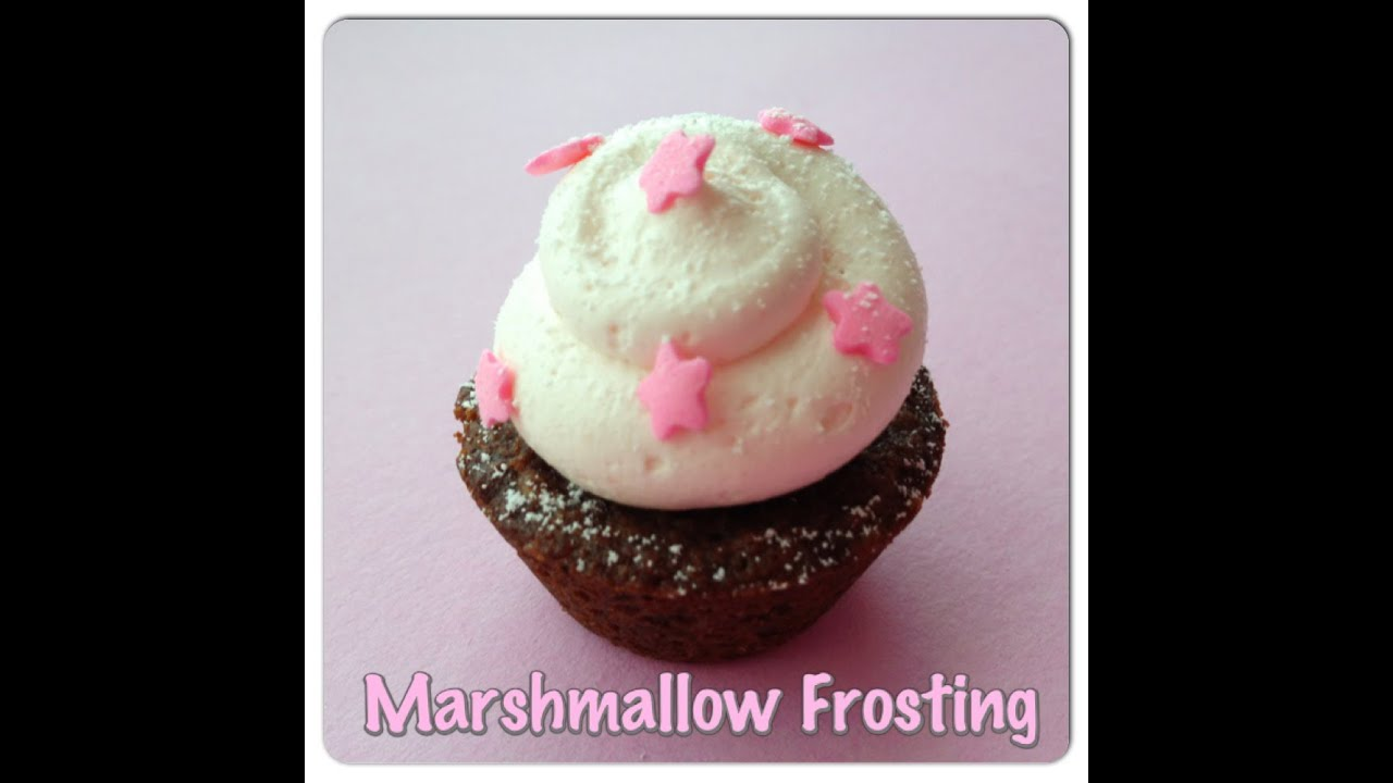 Easy Marshmallow Frosting Recipe - YouTube