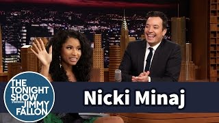 Nicki Minaj was a Waitres at Red Lobster