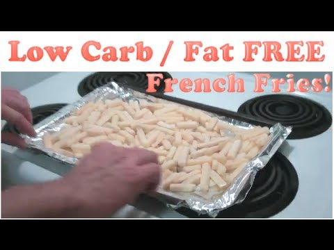 Teens making low fat french