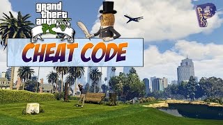 GTA 5 PC CHEAT CODE IN GAME ! [FR]