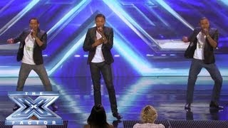 """AKNU - Brothers from LA Perform """"Valerie"""" - THE X FACTOR USA 2013"""