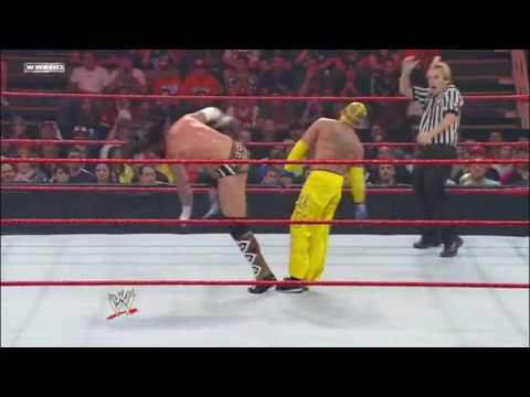 WWE Over The Limit 2010 CM Punk Vs   Rey Mysterio Highlights HD