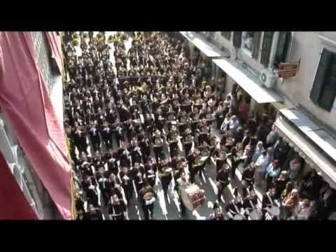 Easter in Corfu-Πάσχα στην Κέρκυρα. Φιλαρμονική Εταιρεία Κέρκυρας ''AMLETO''