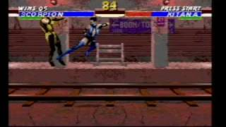 Ultimate Mortal Kombat 3 On SEGA Mega Drive (Genesis) Part
