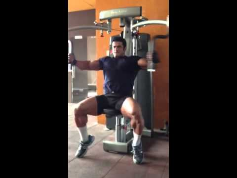Chest Suhas khamkar workout hex