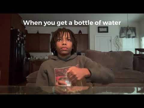 When you get a bottle of water) Which type of one are you