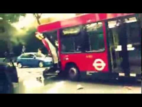 London Sloan Square crash (accident) 22/09/2013