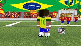 2014 FIFA World Cup Brazil A Minecraft Animation