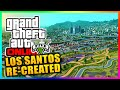 Incredible GTA 5 Los Santos Map Remake! - Los Santos Recreated Map Mod In City Skylines! (GTA V)