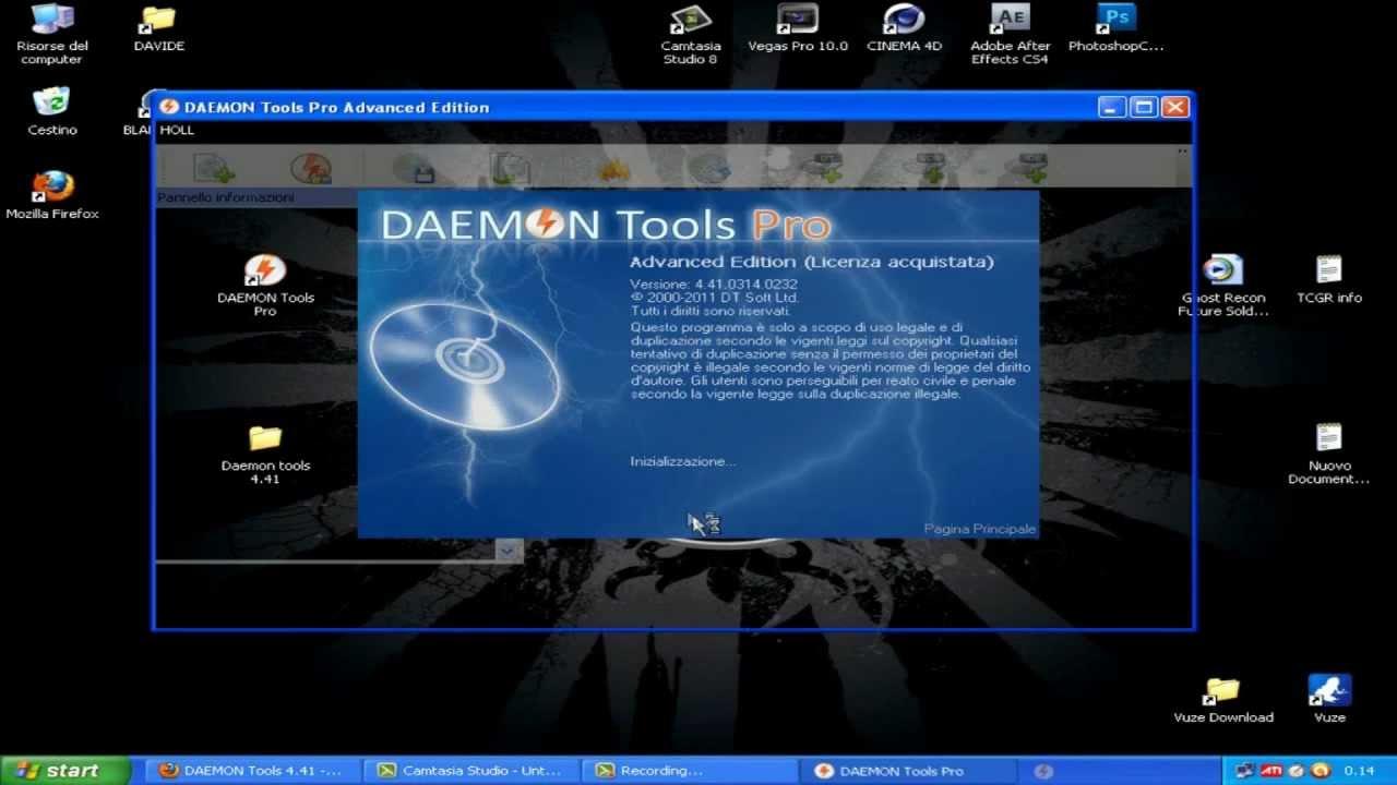 daemon tools pro 4.41 -  + crack - 2014