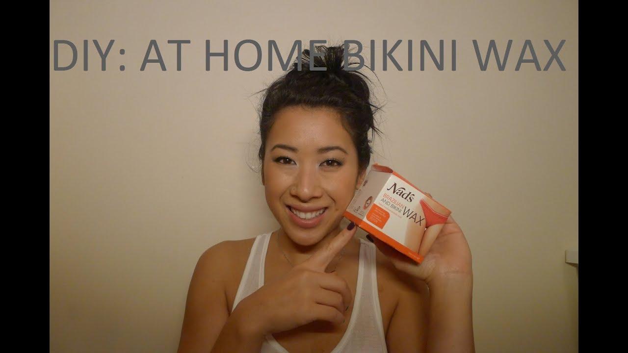 How to do a bikini wax at home