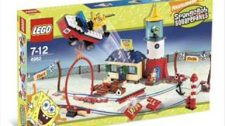 New LEGO Set 2007 2009 Spongebob