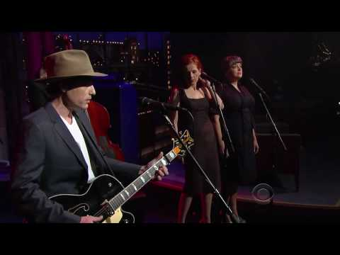 Jakob Dylan on Late Show with David Letterman April 2010