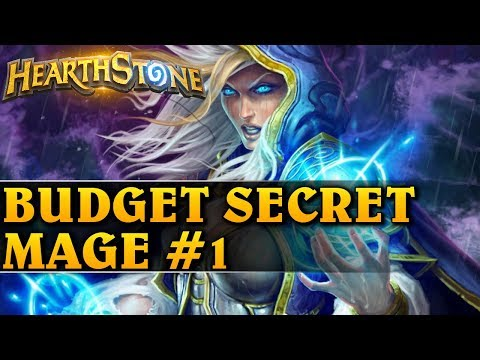 BUDGET SECRET MAGE #1 - Hearthstone Decks std