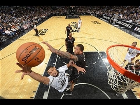 Tim Duncan Leads the Spurs Over the Heat in a Finals Rematch