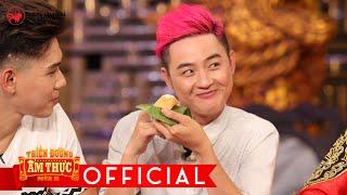Thiên đường ẩm thực 2 | tập 10:  Thanh Duy tập ăn bánh theo phong cách Ông Hoàng.