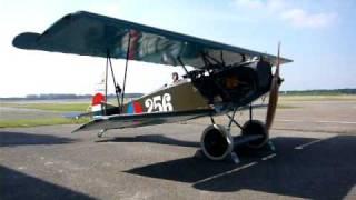 Fokker D VII Mercedes D IIIau Engine Run