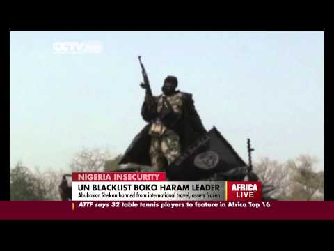 Nigeria's Boko Haram Leader Sanctioned By United Nations Security Council