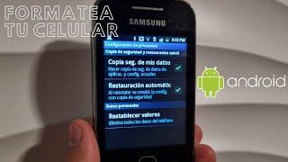 Formatear cualquier celular con android