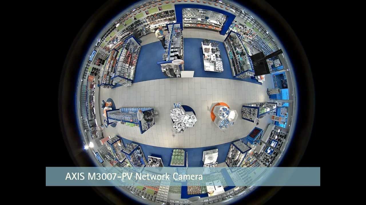 Axis 360 Degree Fixed Surveillance Camera Youtube