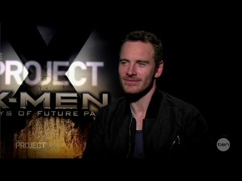 Michael Fassbender 'Danced through the Insults' & Peter Dinklage X-Men Australian Tv Interview