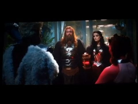 Thor The Dark World Movie After Credits Scene! What Time Is It?
