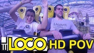 El Loco Adventuredome (HD POV) Roller Coaster Circus