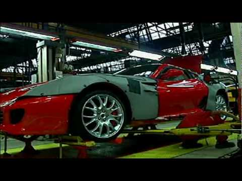 The Ferrari factory in Maranello Italy