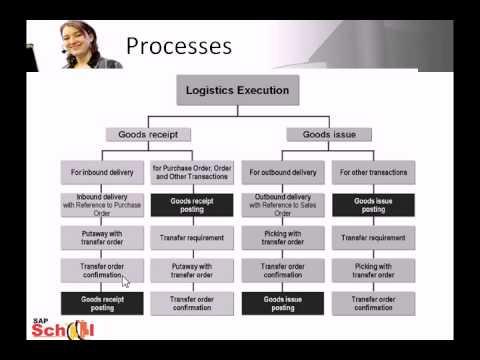 Sap Logistics Execution Amp Warehouse Management Youtube