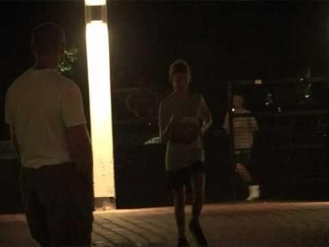 Смотреть видео Ночной пробег «Паулиг» в Вентспилсе