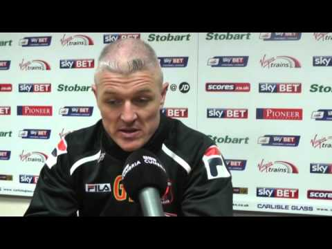 Graham Kavanagh on the 0-0 draw with Stevenage