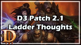 D3 Patch 2.1 Ladder Thoughts